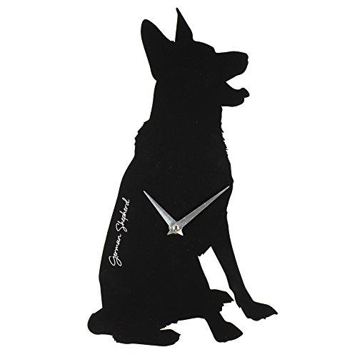 best-of-breed-hund-neutraler-silhouette-quarz-wanduhr-schferhund-elsssischen