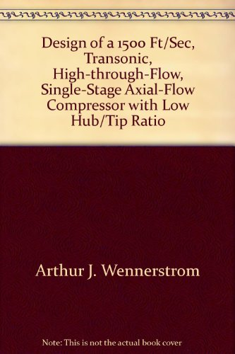 Design of a 1500 Ft/Sec, Transonic, High-through-Flow, Single-Stage Axial-Flow Compressor with Low Hub/Tip Ratio -
