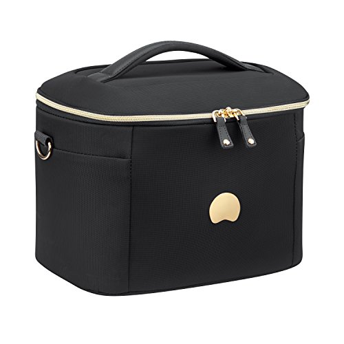DELSEY Paris Montrouge Beauty Case Schminkkoffer , 32 cm, 17 L, schwarz