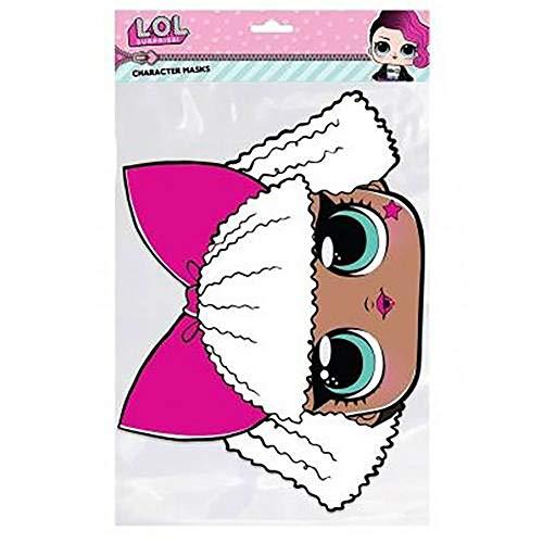 a0a5945f93 Official Licensed L.O.L Surprise - Cardboard Face Mask (Diva)
