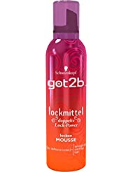 Got2b lockmittel locken MOUSSE, 3er Pack (3 x 250 ml)