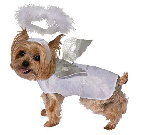 Angel Pet Costume Small (Forum Weiße Kostüm)
