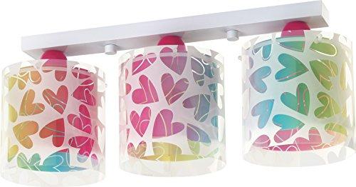 Dalber Cuore - Lámpara colgante, 3 luces