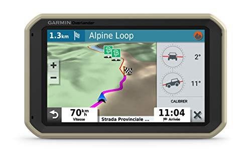 Oferta de Garmin Overlander GPS Todoterreno para la Navegación en Carretera y Fuera de Ella