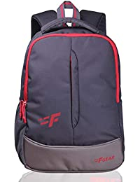 F Gear Ferrari 21 Ltrs Grey Casual Backpack (2269)
