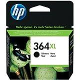 Original Tinte passend für HP PhotoSmart Premium C 410 c HP 364, 364XL, 364XLBK, 364XLBLACK, NO364XL, NO364XLBK, NO364XLBLACK CN684EE - Premium Drucker-Patrone - Schwarz - 550 Seiten - 12 ml