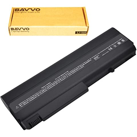 Bavvo Batería de Recambio para HP Compaq 6910p,9 células