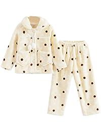 Pajamas calientes del otoño y del invierno Pijamas encantadores de las muchachas