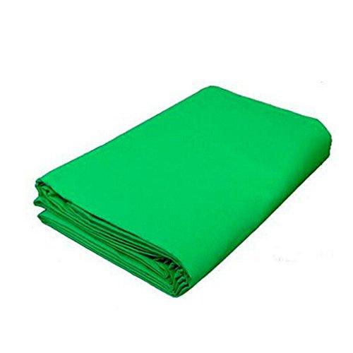 PMS® Greenscreen Hintergrundstoff aus Baumwolle für Chromakey - 2,8 x 6 m
