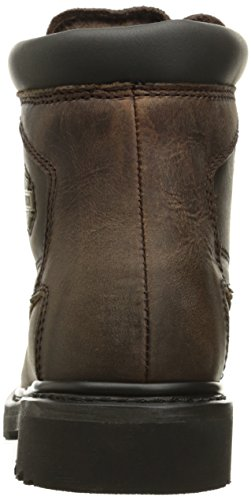 Harley Davidson Womens Bayport Leather Boots Marron