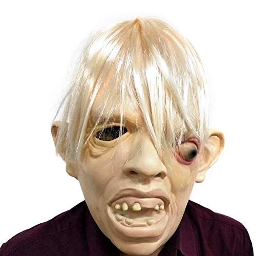 ry Monster Erwachsenen Latex Maske Vollgesichtsmaske Atmungsaktiv Cosplay Prom Party Maske ()