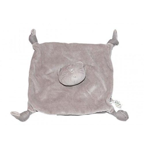 doudou-plat-chat-gris-taupe-marron-monoprix-boutchoux-4-noeuds