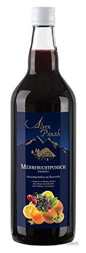 Nannerl Alpen Punsch Mehrfruchtpunsch alkoholfrei 1,0l Mehrfruchtsirup