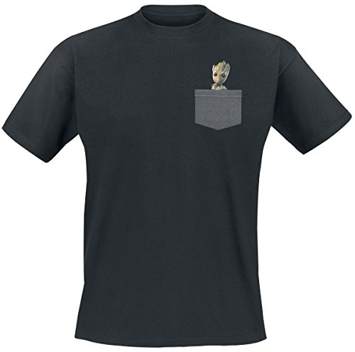 Guardians of the Galaxy 2 - Groot T-Shirt schwarz M