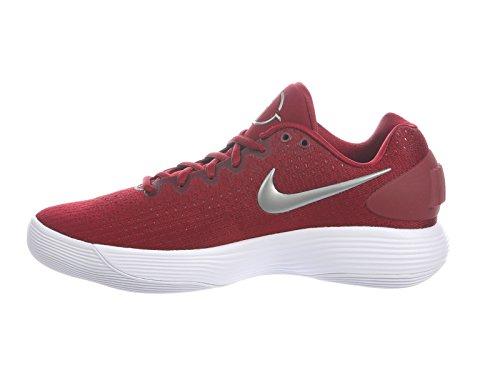 Nike Scarpe da Basket Low Hyperdunk 2017 TB Bordeaux-Bianco