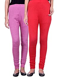 Belmarsh Warm Leggings - Pack of 2 (Bpink_Red)