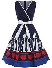 d2101164a16a Amazon.it  gatto - Vestiti   Donna  Abbigliamento
