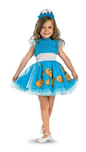 Disguise 198291 Sesame Street- Frilly Cookie Monster Toddler- -