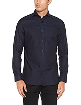 SELECTED HOMME Shdonesel-Zil Shirt Ls Noos, Camicia Formale Uomo