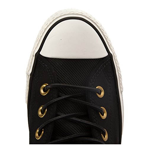 153807C CONVERSE SNEAKERS HIGH CAMEL Black / Black