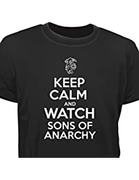 Creepyshirt - KEEP CALM AND WATCH SONS OF ANARCHY T-SHIRT
