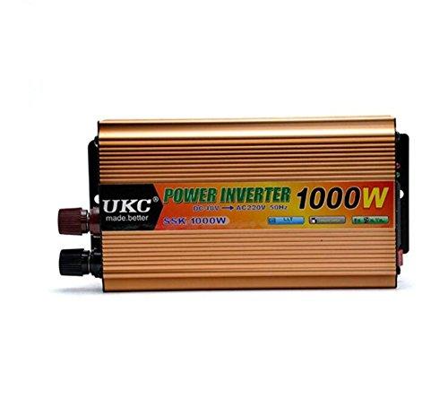 Spannungswandler KDLD Auto Power Inverter 1000W DC 48V bis 220V AC Fahrzeug-Konverter-Auto-Inverter-Stromversorgungs-Schalter On-Board-Ladegerät USB -