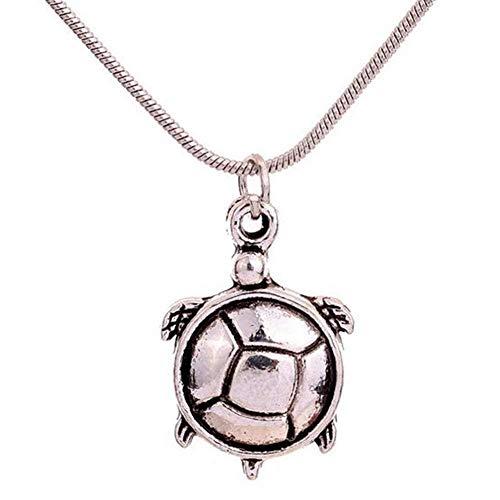 röte Anhänger Halskette Silber Schlüsselbein Kette Schmuck Accessoires Legierung Halskette (A) ()