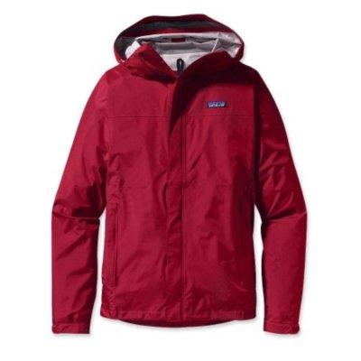 Patagonia M's Torrentshell Jacke Outdoorjacke Regenjacke Gr. XL Herren rot