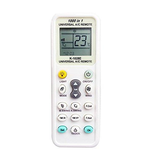 cenblue aire acondicionado A/C Mando a distancia universal blanco lechoso mando a...