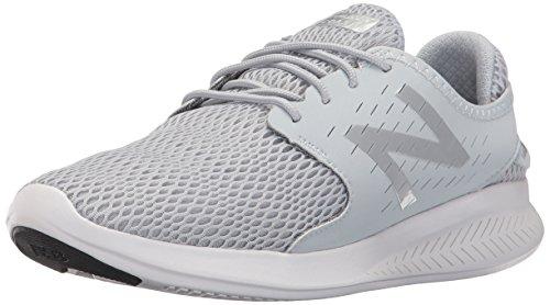 New Balance Women's Coast V3 Running-Shoes, Light Grey, 6 D US
