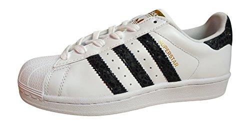 adidas Originals Superstar sneakers scarpe da scarpe white black S79418