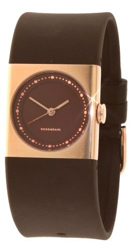Rosendahl 43264 - Reloj analógico de cuarzo para mujer con correa de plástico, color verde