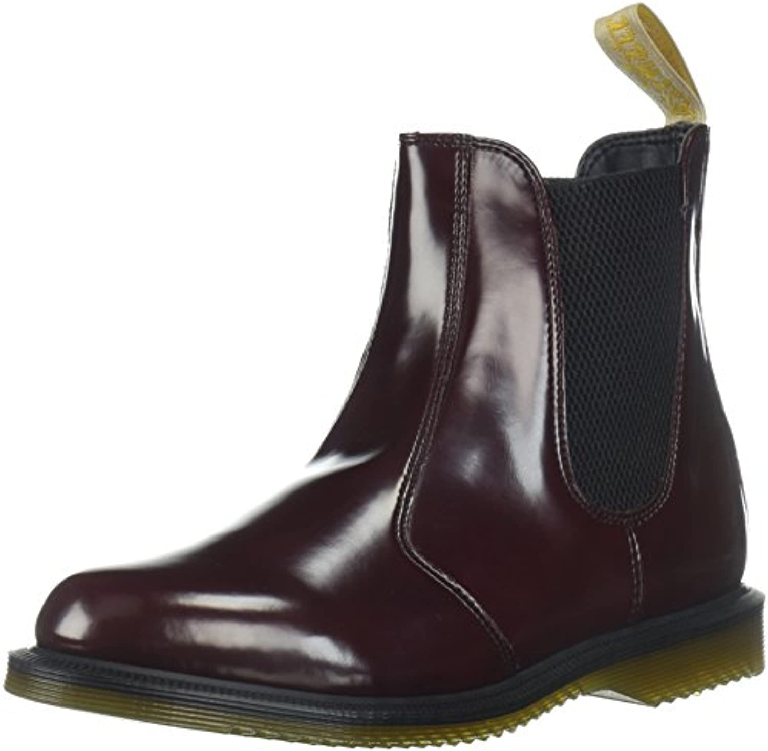 Dr. Dr. Dr. Martens Flora Polished Smooth W Stivale | Un equilibrio tra robustezza e durezza