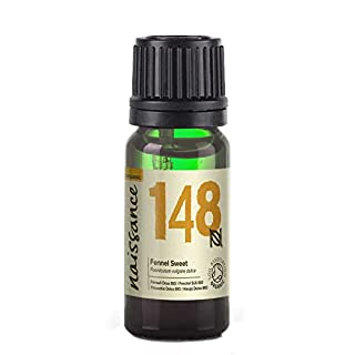 Naissance Fennel Essential Oil 10ml Certified Organic - 100% Pure, Natural, Cruelty Free and Undiluted