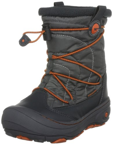 Hi-Tec Equinox, Unisex - Kinder Sportschuhe - Wintersport Grau/Dk. Grey/Burnt Orange