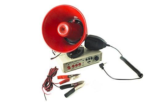 MEGAFONO ALTOPARLANTE MICROFONO AUTO 12V AMPLIFICATORE REGISTRATORE CA 150U - Megafono Auto