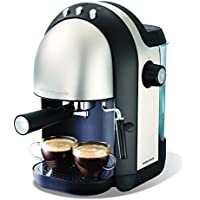 Morphy Richards Accents Espresso Coffee Maker 172004 Black/Stainless Steel