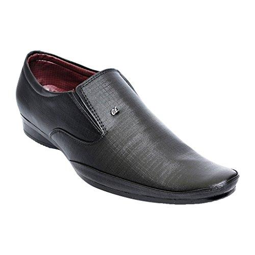 New latest Designer Comfortable Black Colour Leather Formal Office Wear shoes for men/mens/boy/boys Size: 10