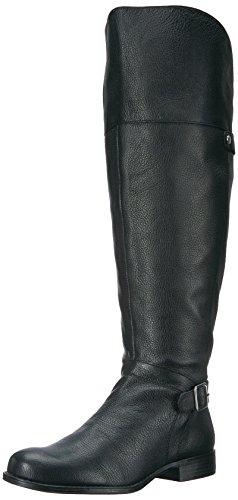Naturalizer Frauen Flache Sandalen Schwarz Groesse 8 US /39 EU - Naturalizer Wide Calf Boots