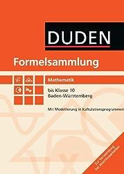 Formelsammlung bis Klasse 10 - Mathematik Baden-Württemberg: Formelsammlung