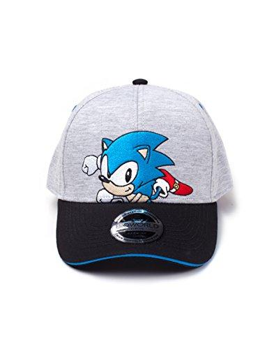Marque+generique Sonic Casquette de Baseball, Grey, Taille Unique Adulte Unisexe