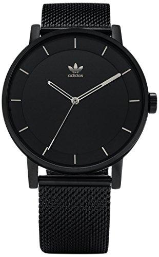 Adidas Herren Analog Quarz Uhr mit Edelstahl Armband Z04-2341-00