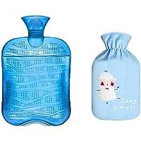 1800ML Klassisch PVC Kalt oder Heiße Wasserflasche mit weichem Plüschbezug, 09 preisvergleich bei billige-tabletten.eu