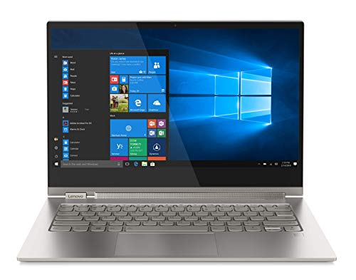"Lenovo YOGA C930 - Portátil táctil convertible 13.9"" 4K (Procesador Intel Core i7-8550U, 16GB de RAM, 512GB SSD, Windows 10 Home) space metal. Teclado QWERTY español"