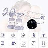 Lorenlli Touchscreen Elektrische Milchpumpe Einzel Doppel Nippel Saug Automatische Milchmilchpumpen Für Mutterschaft Pflege Zubehör