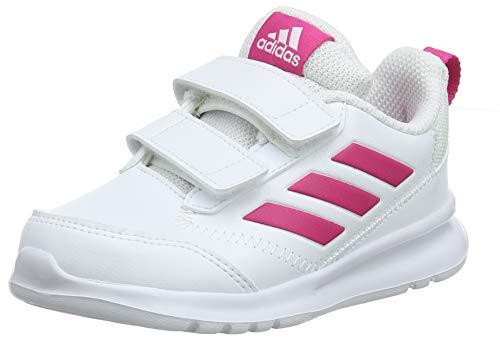 adidas Altarun CF I, Zapatillas de Gimnasia Unisex bebé, Blanco Real Magenta/FTWR...