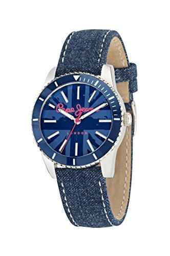 Pepe Jeans R2351102506 - Reloj con correa de acero para mujer, color azul/gris