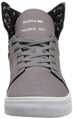 Supra SKYTOP Herren Hohe Sneakers Grau (GREY/PRINT - WHITE     GPR)
