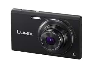 Panasonic Lumix DMC-FS50EB-K Compact Camera - Black (16.1MP, 5x Optical Zoom, Super Slim Design, 24mm Ultra Wide Angle, HD Video Recording, Micro SD) 2.7 inch LCD