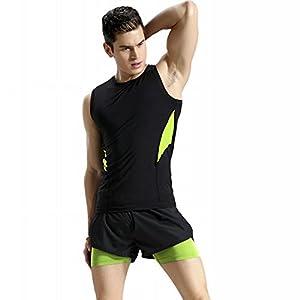 NBX Weste Sport Anzug Männer Fitness-Kleidung schnell Trocknende Weste Anzug Enge Atmungsaktive Basketball-Anzüge